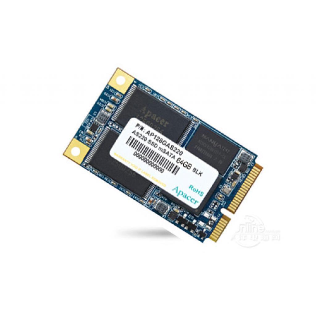 Накопитель SSD mSATA 64GB Apacer (AP64GAS220B-1)