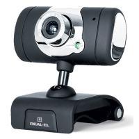 Веб-камера REAL-EL FC-225, black
