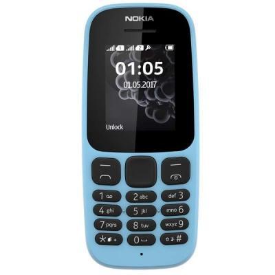 Мобильный телефон Nokia 105 SS New Blue (A00028372)
