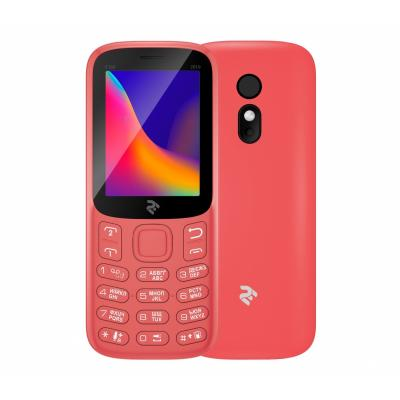 Мобильный телефон 2E E180 2019 Red (680576170057)