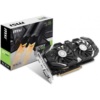 Видеокарта MSI GeForce GTX1060 6144Mb DUAL FAN (GTX 1060 6GT V1)