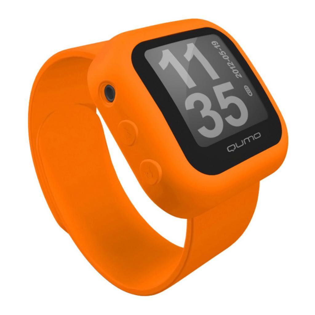 mp3 плеер Qumo QUMO Sportswatch 4GB Orange (QUMO SPORTSWATCH 4GB orange)