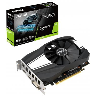 Видеокарта ASUS GeForce GTX1660 6144Mb Phoenix (PH-GTX1660-6G)