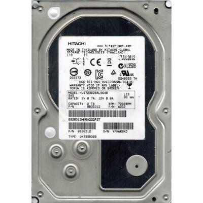 Жесткий диск для сервера 2TB WDC Hitachi HGST (0B26312 / HUS723020ALS640)