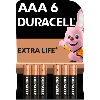 Батарейка Duracell AAA MN2400 LR03 * 6 (81485017)