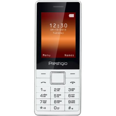 Мобильный телефон PRESTIGIO PFP1241 Muze A1 Duo White (PFP1241DUOWHITE)