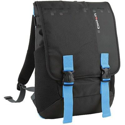 Рюкзак для ноутбука Crown 15.6 Harmony black and blue (BPH3315BBU)