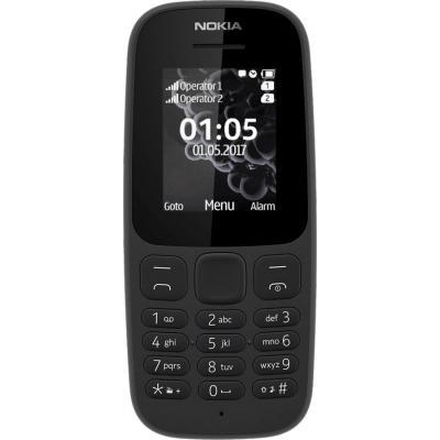 Мобильный телефон Nokia 105 SS New Black (A00028356)