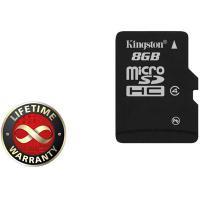 Карта пам'яті Kingston 8Gb microSDHC class 4 (SDC4/8GBSP)