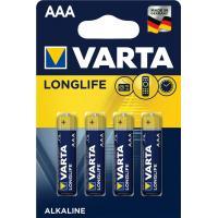 Батарейка Varta AAA Varta Longlife Extra * 4 (04103101414)