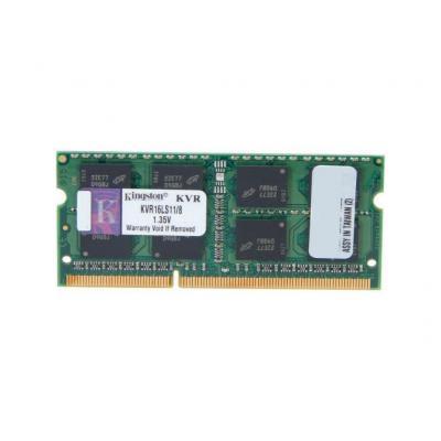 Модуль памяти для ноутбука SoDIMM DDR3 8GB 1600 MHz Kingston (KVR16LS11/8G)
