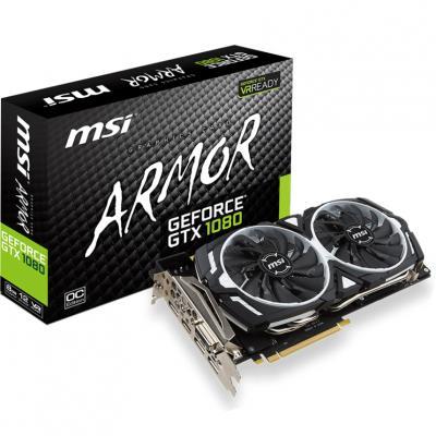 Видеокарта MSI GeForce GTX1080 Ti 11Gb ARMOR OC (GTX 1080 Ti ARMOR 11G OC)