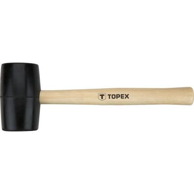 Киянка Topex резиновая O 58 мм, 450 г (02A344)