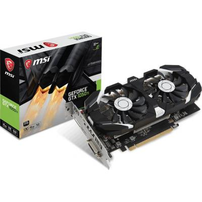 Видеокарта MSI GeForce GTX1050 Ti 4096Mb DUAL FANS OC (GTX 1050 Ti 4GT OCV1)