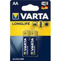 Батарейка Varta AA Varta Longlife Extra * 2 (04106101412)