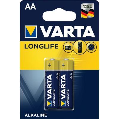 Батарейка AA Varta Longlife Extra * 2 VARTA (04106101412)