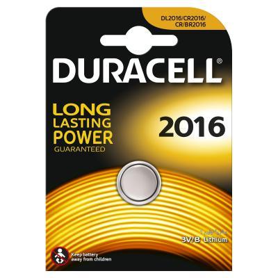 Батарейка Duracell DL2016 DURACELL DSN Litium (81269133)