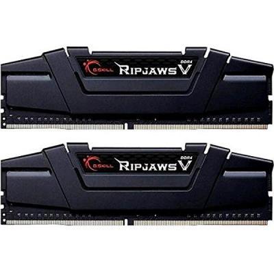Модуль пам'яті для комп'ютера DDR4 16GB (2x8GB) 3200 MHz Ripjaws V G.Skill (F4-3200C16D-16GVKB)