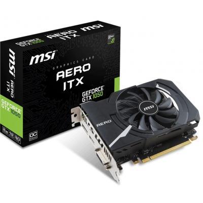 Видеокарта MSI GeForce GTX1050 2048Mb AERO ITX OC (GTX 1050 AERO ITX 2G OC)