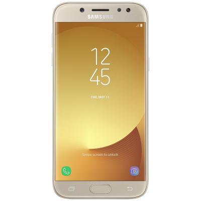Мобильный телефон Samsung SM-J730F (Galaxy J7 2017 Duos) Gold (SM-J730FZDNSEK)