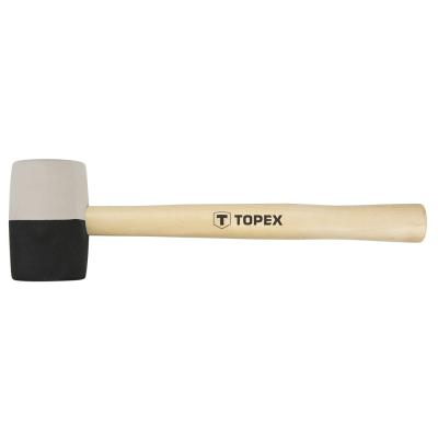 Киянка Topex резиновая O 58 мм, 450 г (02A354)