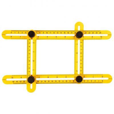 Угольник Topex регулируемый (шаблометр), 25см (16B476)