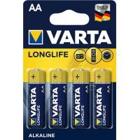 Батарейка Varta AA Varta Longlife Extra * 4 (04106101414)