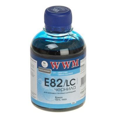 Чернила WWM EPSON StPhoto R270/290, Light Cyan (E82/LC)