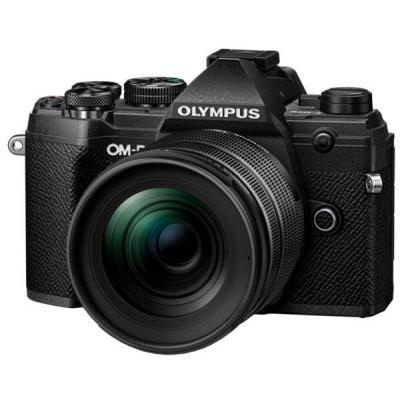 Цифровой фотоаппарат OLYMPUS E-M5 mark III 12-45 PRO Kit black/black (V207092BE000)