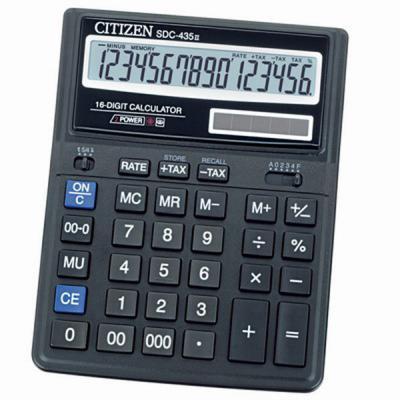 Калькулятор SDC-435 Citizen (1249)