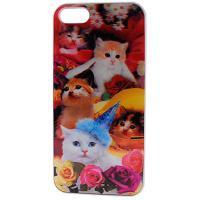 Чохол до моб. телефона Drobak для Apple Iphone 5 (cats) 3D (930206)