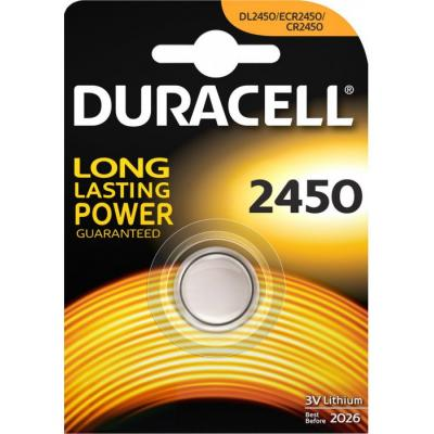 Батарейка Duracell CR 2450 / DL 2450 * 1 (5000394030428 / 81575102)