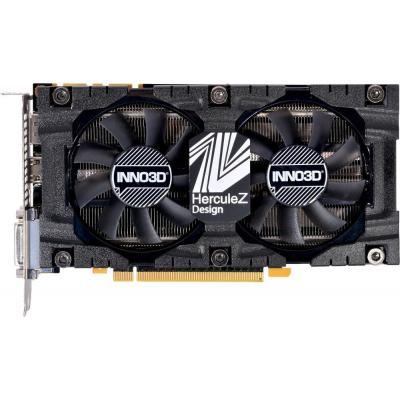 Видеокарта Inno3D GeForce GTX1070 Ti 8192Mb HerculeZ Twin X2 (N107T-2SDN-P5DS)