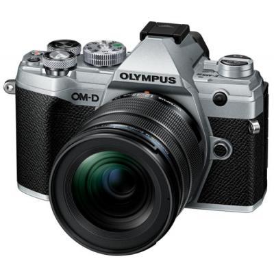 Цифровой фотоаппарат OLYMPUS E-M5 mark III 12-45 PRO Kit silver/black (V207092SE000)