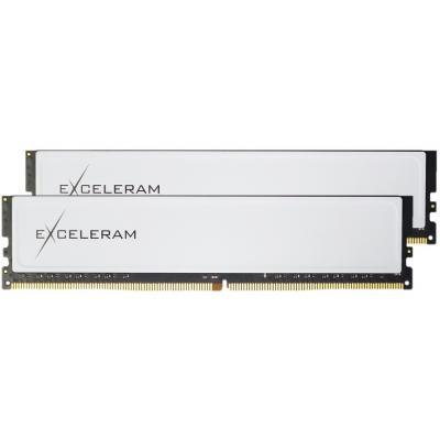 Модуль пам'яті для комп'ютера DDR4 32GB (2x16GB) 2666 MHz Black&White eXceleram (EBW4322619CD)