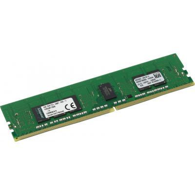 Модуль памяти для сервера DDR4 8GB ECC RDIMM 2400MHz 1Rx8 1.2V CL17 Kingston (KVR24R17S8/8)
