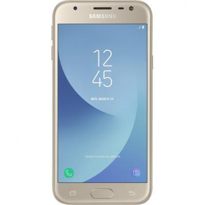 Мобильный телефон Samsung SM-J330 (Galaxy J3 2017 Duos) Gold (SM-J330FZDDSEK)