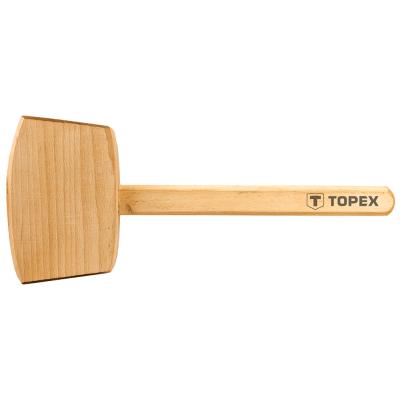Киянка Topex деревянная, 500 г (02A050)