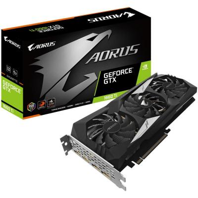 Видеокарта GIGABYTE GeForce GTX1660 Ti 6144Mb AORUS (GV-N166TAORUS-6GD)