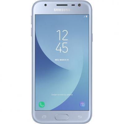 Мобильный телефон Samsung SM-J330 (Galaxy J3 2017 Duos) Silver (SM-J330FZSDSEK)