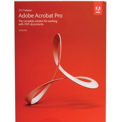 Офисное приложение Adobe Acrobat Pro 2017 Multiple Russian AOO License TLP (65280336AD01A00)