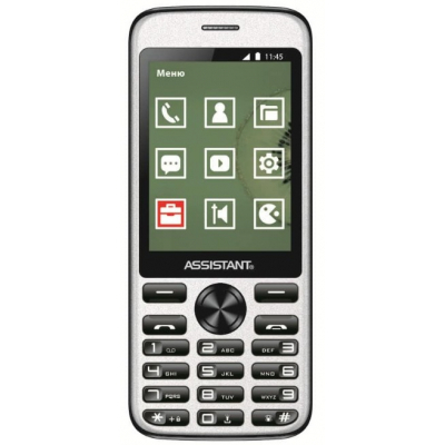 Мобильный телефон Assistant AS-204 Black (873293012797)