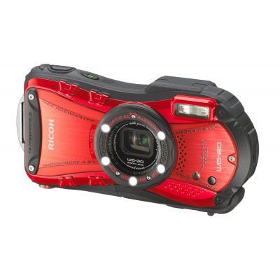 Цифровой фотоаппарат Ricoh WG-20 Red-Black (08076)