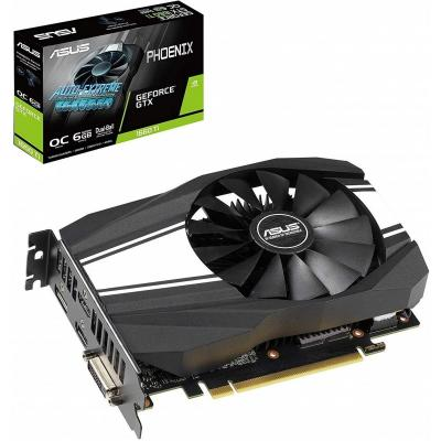 Видеокарта ASUS GeForce GTX1660 Ti 6144Mb PHOENIX (PH-GTX1660TI-O6G)