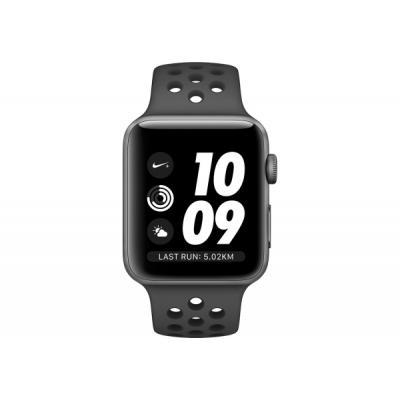 Смарт-часы Apple Watch Nike+ Series 3 GPS, 38mm Space Grey Aluminium Case wit (MTF12FS/A)