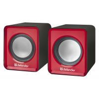 Акустическая система Defender SPK 22 2х2,5W USB red (65502)