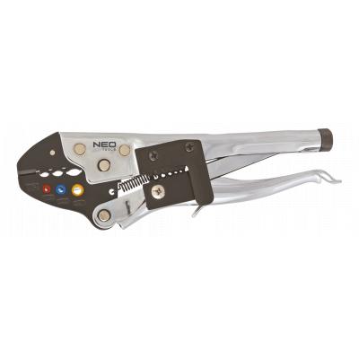 Клещи NEO для обжима неизолированных наконечников 22-10 AWG (01-505)