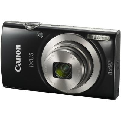Цифровой фотоаппарат Canon IXUS 185 Black Kit (1803C012)