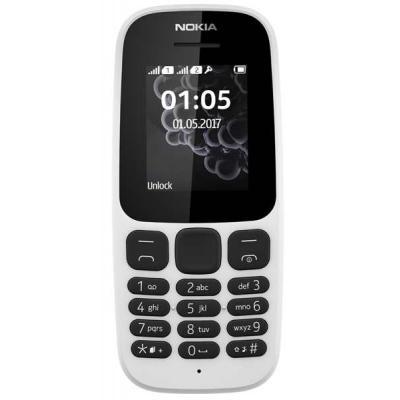 Мобильный телефон Nokia 105 SS New White (A00028371)
