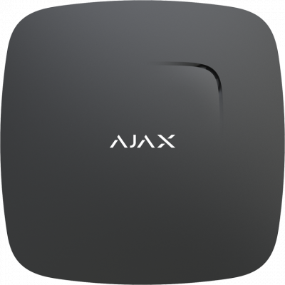 Датчик дыма Ajax FireProtect Plus Black (5636)
